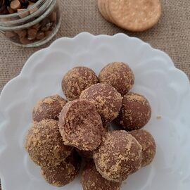 Chocolate-Peanut Truffles